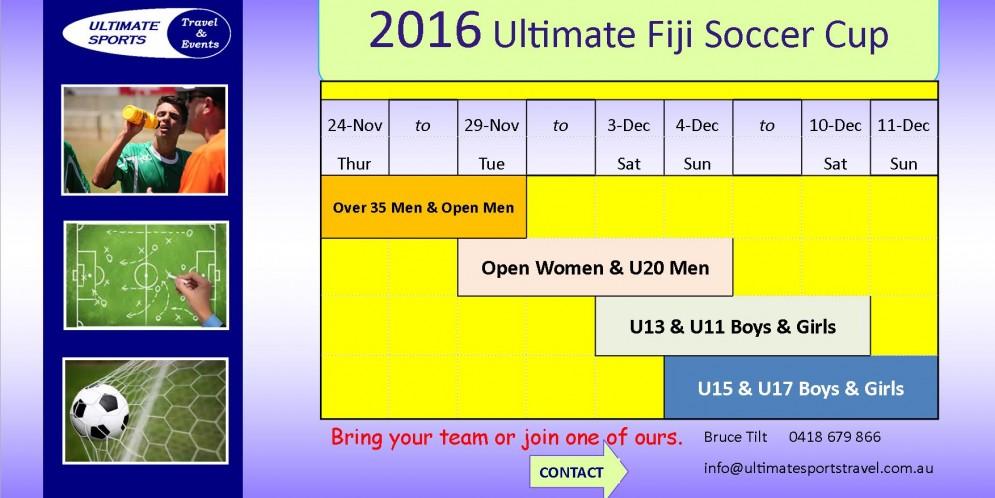 Fiji Soccer Cup 2016